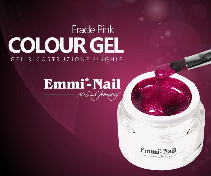 #ColourGel #EmmiNail #EraclePink