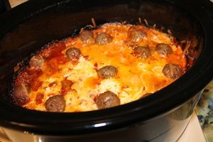 Crock-Pot Spaghetti Casserole...just might have to try this!
