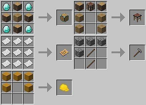 Minecraft build recipe minecraft pinterest minecraft for Minecraft xbox one crafting recipes