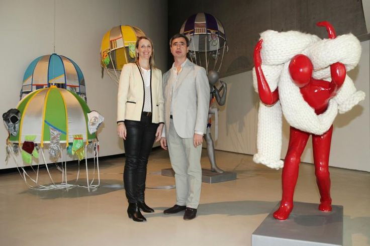 LUCY+JORGE ORTA with Reconnaissance Man & Tunneler, 2012. Courtesy ZegnArt and the Artists