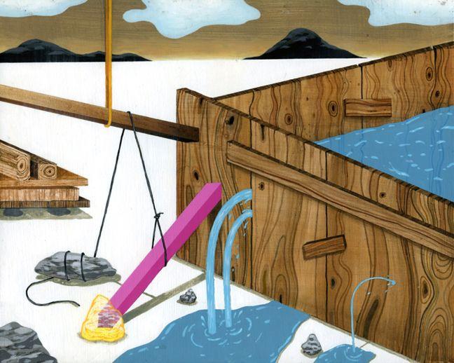 Web Dam Construction