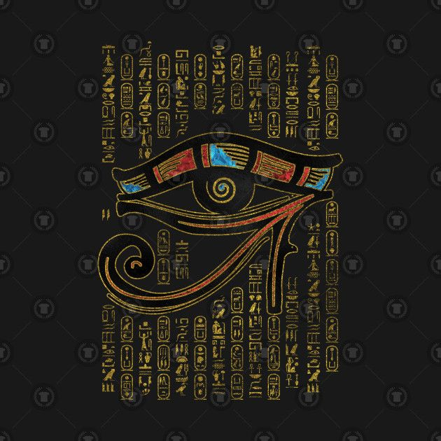 Check Out This Awesome Egyptian Eye Of Horus Ornament Design On Teepublic Egypt Art Ancient Egyptian Art Egyptian Art
