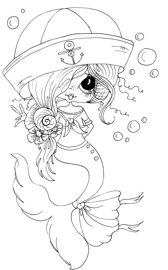 14 Best Coloring Pages Big Eye Girls Amp Boys Images On