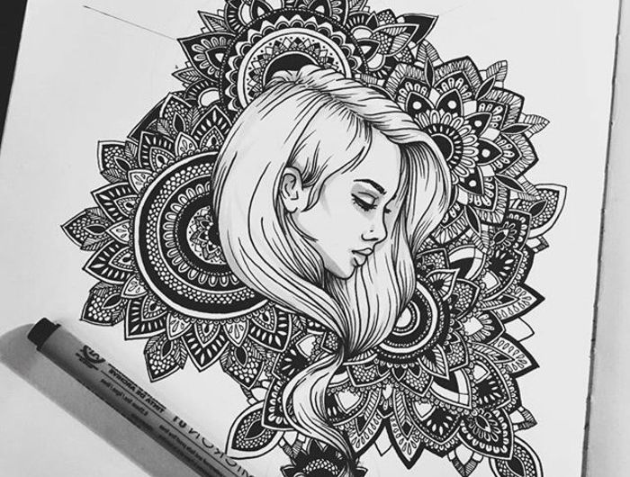1001 Ideen Zum Thema Mandala Malen Ausfuhrliche Anleitungen Mandala Malen Anleitung Zeichnung Zeichentechniken