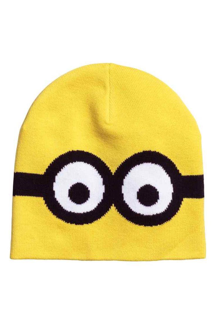Minionkowa czapka w H&M