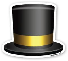 Top Hat | Emoji Stickers