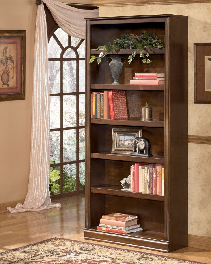 Shop For The Signature Design By Ashley Hamlyn Large Bookcase At Royal  Furniture   Your Memphis, Nashville, Jackson, Birmingham Furniture U0026  Mattress Store