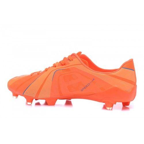 Puma - Mejor Puma evoSPEED 1.4 SL FG Naranja Azul Botas De Futbol