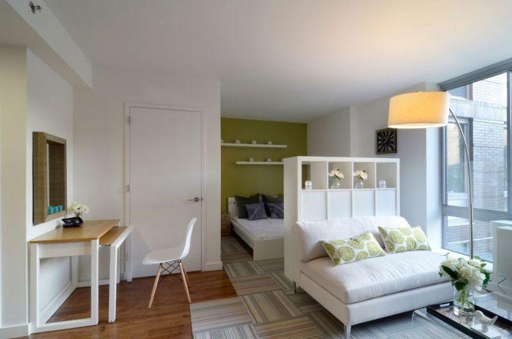 Wie Konnen Sie Richtig Eine 1 Zimmer Wohnung Einrichten Wohnideen Raum Wohnungdekorieren Ideen Ins College Apartment Decor Apartment Room Apartment Decor