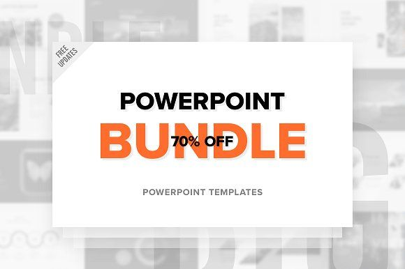 PowerPoint Bundle - Free Updates by ReworkMedia on @creativemarket