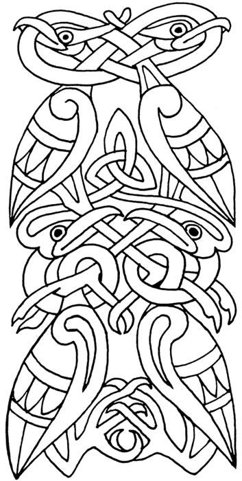 celtic bird knot