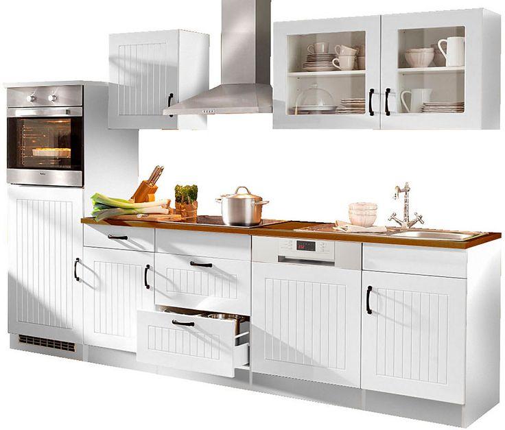 HELD MÖBEL Küchenzeile mit E-Geräten »Prato, Breite 380 cm« Jetzt - küchenzeile 240 cm mit geräten