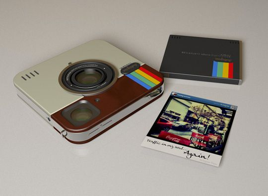 A super slim instant digital camera that looks like it stepped right out of the 70's? I'm in.