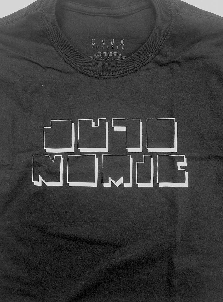 "CNVX Collector Series ""Autonomic:01"" T-Shirt - Black   Convex Industries"
