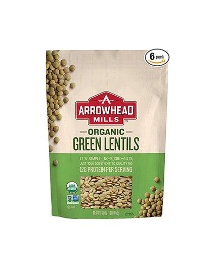 Dried Lentils | Once you have your cupboards stocked with these healthy ingredients,easy meals become faster and more fun to make. Bonus: we gathered everything for you in one place on Amazon tomake it even easier.