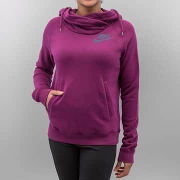 Nike Sweat à capuche violet