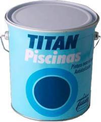 Titan χρωμα πισινας νερου