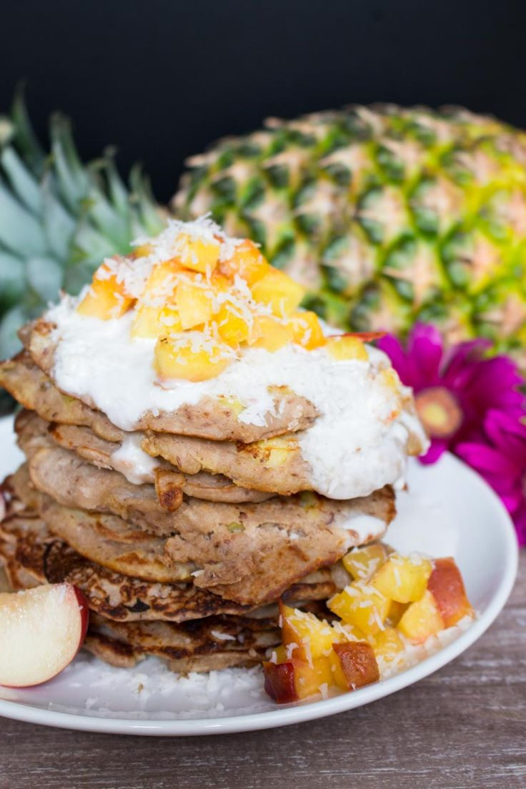 Coconut cream, Buckwheat pancakes and Pancakes on Pinterest