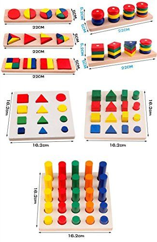 Montessori Materials Cylinder Educational Toy Block Wood Teaching Aids Geometry Shape Sorter Baby Learning Portfolio Combination 8 Pieces Netlab-Toy http://www.amazon.com/dp/B00S2ZSS1I/ref=cm_sw_r_pi_dp_NvIUvb0TYB46W