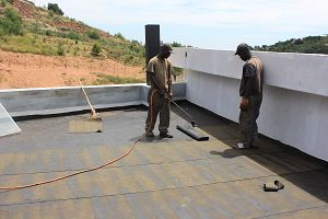 Torch On Waterproofing in process http://waterproofing-centurion.co.za/