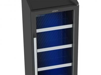 Expositor/Cervejeira Vertical 1 Porta 209 Litros - Venax Blue Light com as melhores condições você encontra no Magazine Raimundogarcia. Confira!