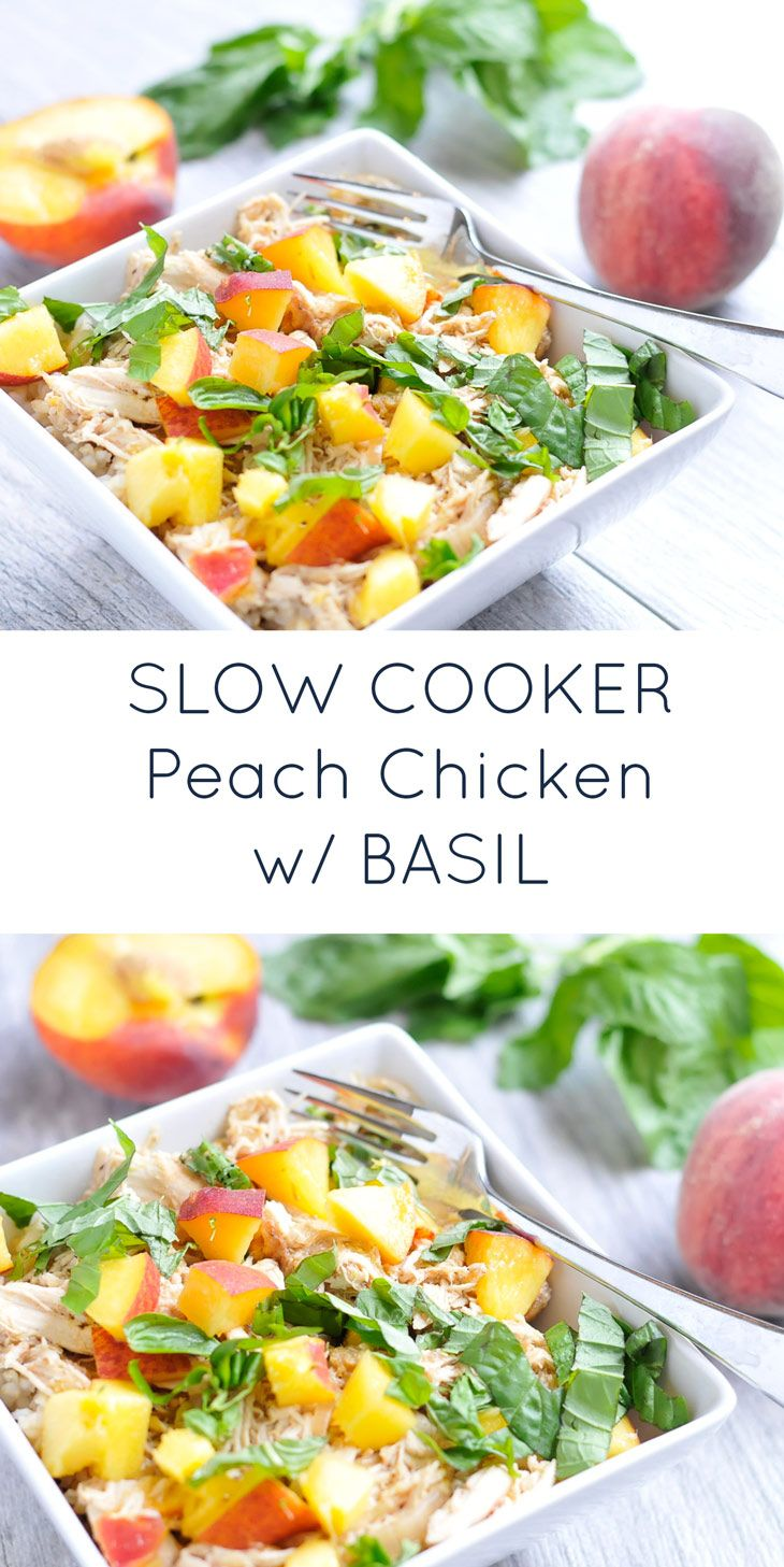 25 best ideas about peach chicken on pinterest healthy for Healthy slow cooker chicken recipes
