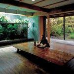 Japanese Style Takashi Amano House with Nature Aquarium