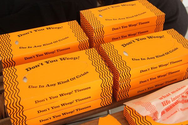 Don't You Weep: Motivational Tissues For Any Crisis