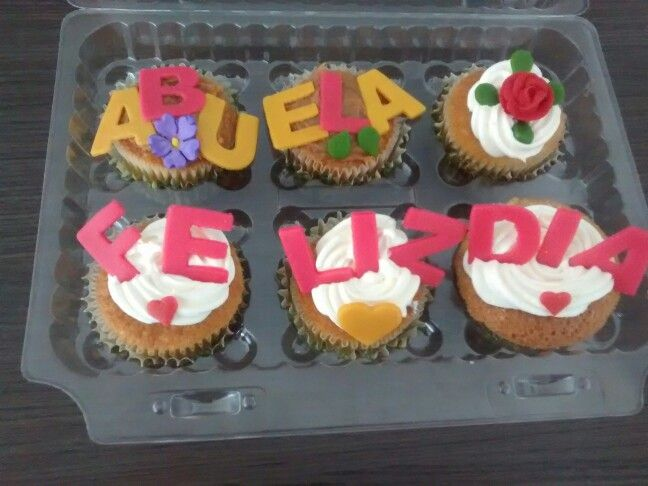 Cupcakes cumpleaños abuela