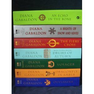 Outlander series by Diana Gabaldon.