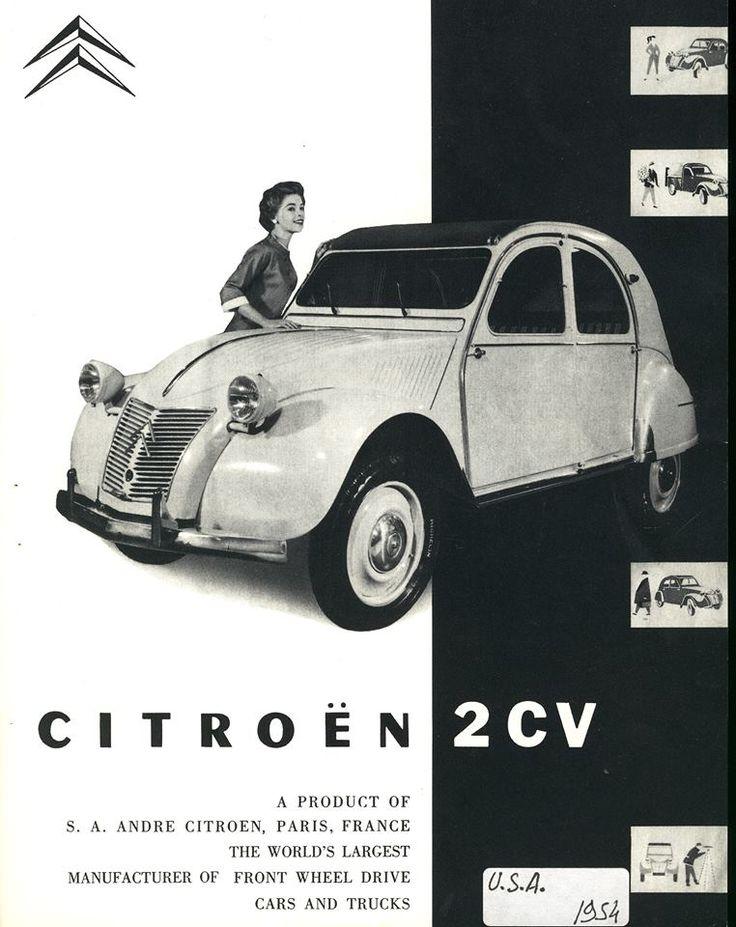 1954 2CV USA