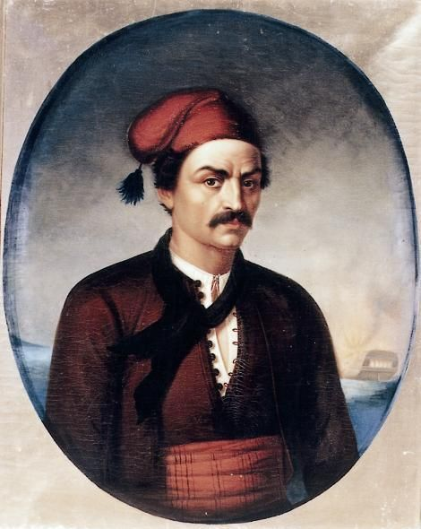 Constantine Kanaris - legendary naval leader of the Greek War of Independence and later prime minister of Greece
