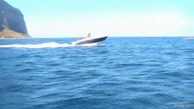 Una bella giornata tra mare e cielo nel mare antistante Punta Raisi, Sferracavallo e Capo Gallo.