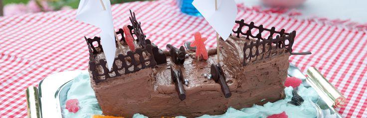 Sjokolade sjørøverskip