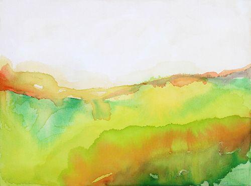watercolour on canvas 2011 © Verónica Melo