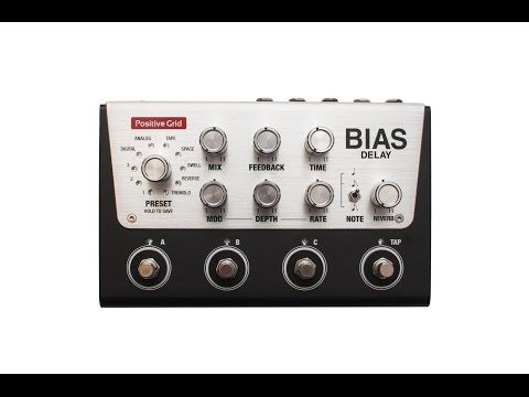 Positive Grid BIAS Delay Pro. All Positive Grid pedals now in stock!