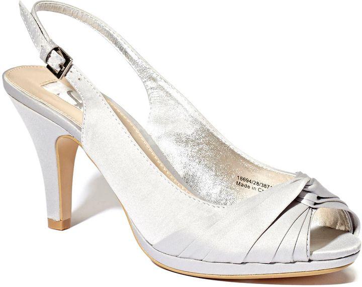 Fuschia Occasion Twist Front P Toe Sling Court Shoe Bhs 30