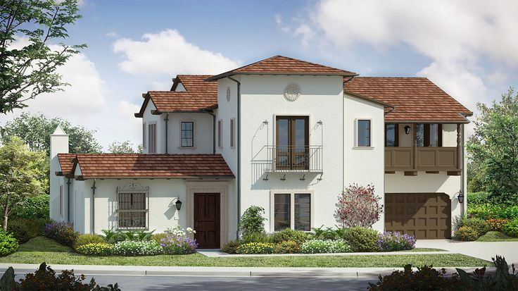 Residence Four X Floor Plan at Estancia at Cielo in Rancho Santa Fe, CA - Taylor Morrison