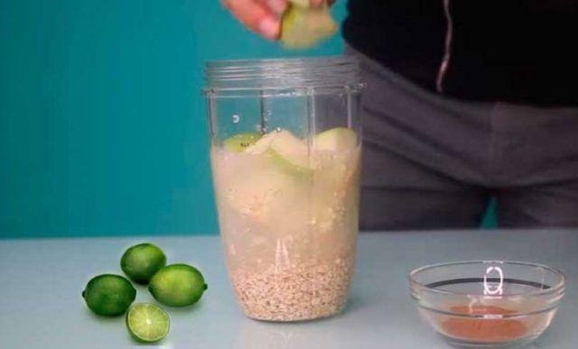 2 Äpfel, 1 Zitrone und 1 Tasse Hafer, bereiten Si…