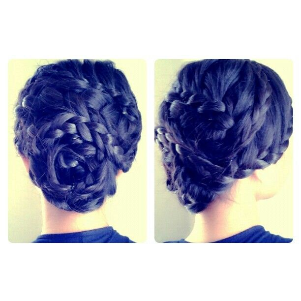 Amazing hair do by Wickky Halim Make Up Artist