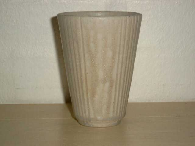 Arne Bang Ceramics. Vase in stoneware from 1950es. Signed AB. #arne #bang #ceramics #pottery #stoneware #vase #dansk #keramik #danish. SOLGT/SOLD.