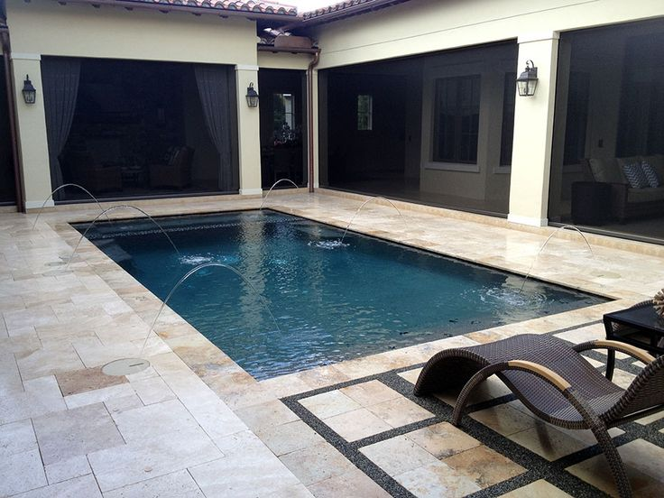 Orlando Pool Contractor Gallery Of Swimming Pools Spas Easy Modern Curb Appeal Pinterest