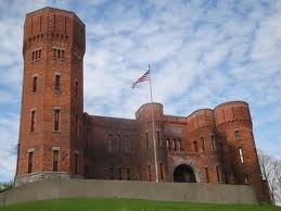 Amsterdam Castle in Amsterdam, NY...stay in your own private wing