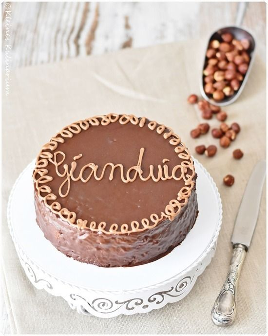 Torta Gianduia - Haselnusstorte