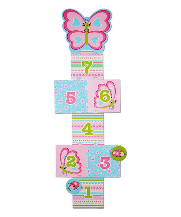 Take a look at this Melissa & Doug Cutie Pie Butterfly Hopscotch today!