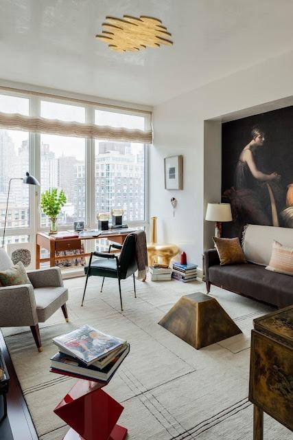 Eclectic living room interior design by Raji Radhakrishnan/ Raji RM and Associates