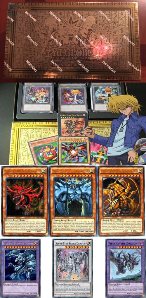 Yu-Gi-Oh Sealed Decks and Kits 183452: Yugioh Yugi S Legendary Decks Ii 2 (Sealed) All 3 Playable God Cards And Exodia -> BUY IT NOW ONLY: $41.89 on eBay!