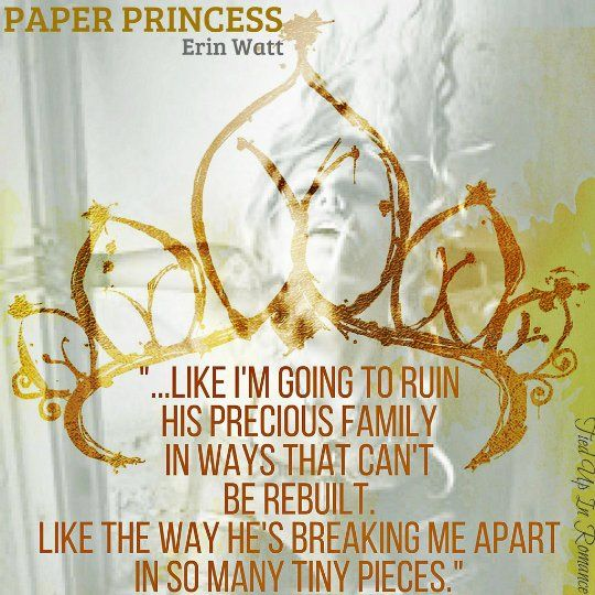 Review: Paper Princess by Erin Watt; Art made by Suzanne ♥