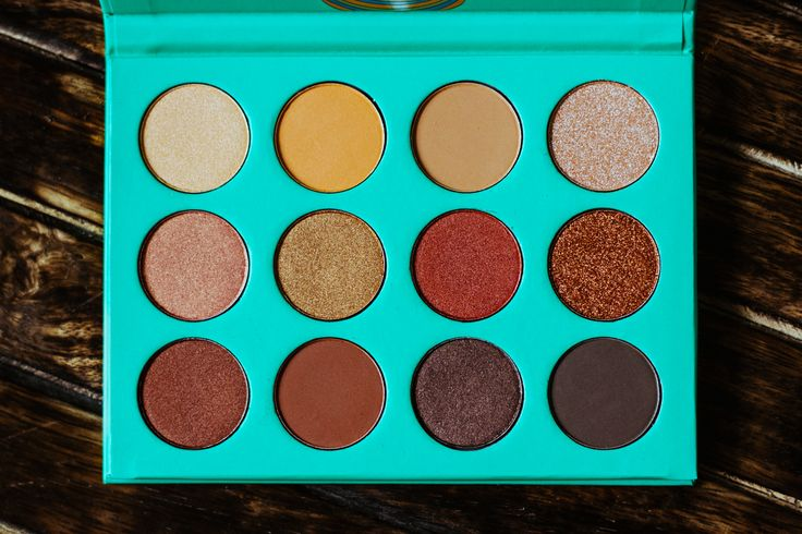 Juvia's Place The Nubian Eyeshadow Palette Review