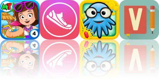 Today's Apps Gone Free My Town Beach Picnic, Pedometer